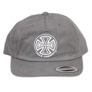 Gorra Independent - Tc gris talla: Ajustable: Amazon.es: Ropa y ...