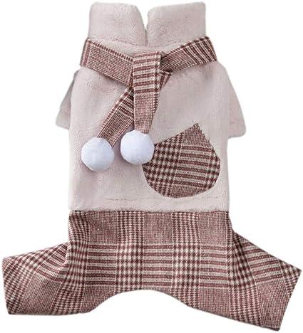 Puppy Pet Dog Cat Clothes Hoodie Winter Warm Sweater Coat Costume Apparel WA