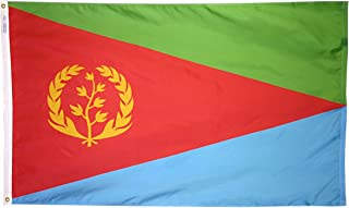 product image for Annin Flagmakers Model 192518 Eritrea Flag 3x5 ft. Nylon SolarGuard Nyl-Glo 100% Made in USA to Official United Nations Design Specifications.