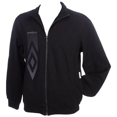 Umbro Athletic-Abrigo-negro-Chaquetas de conjuntos tracktops negro ...