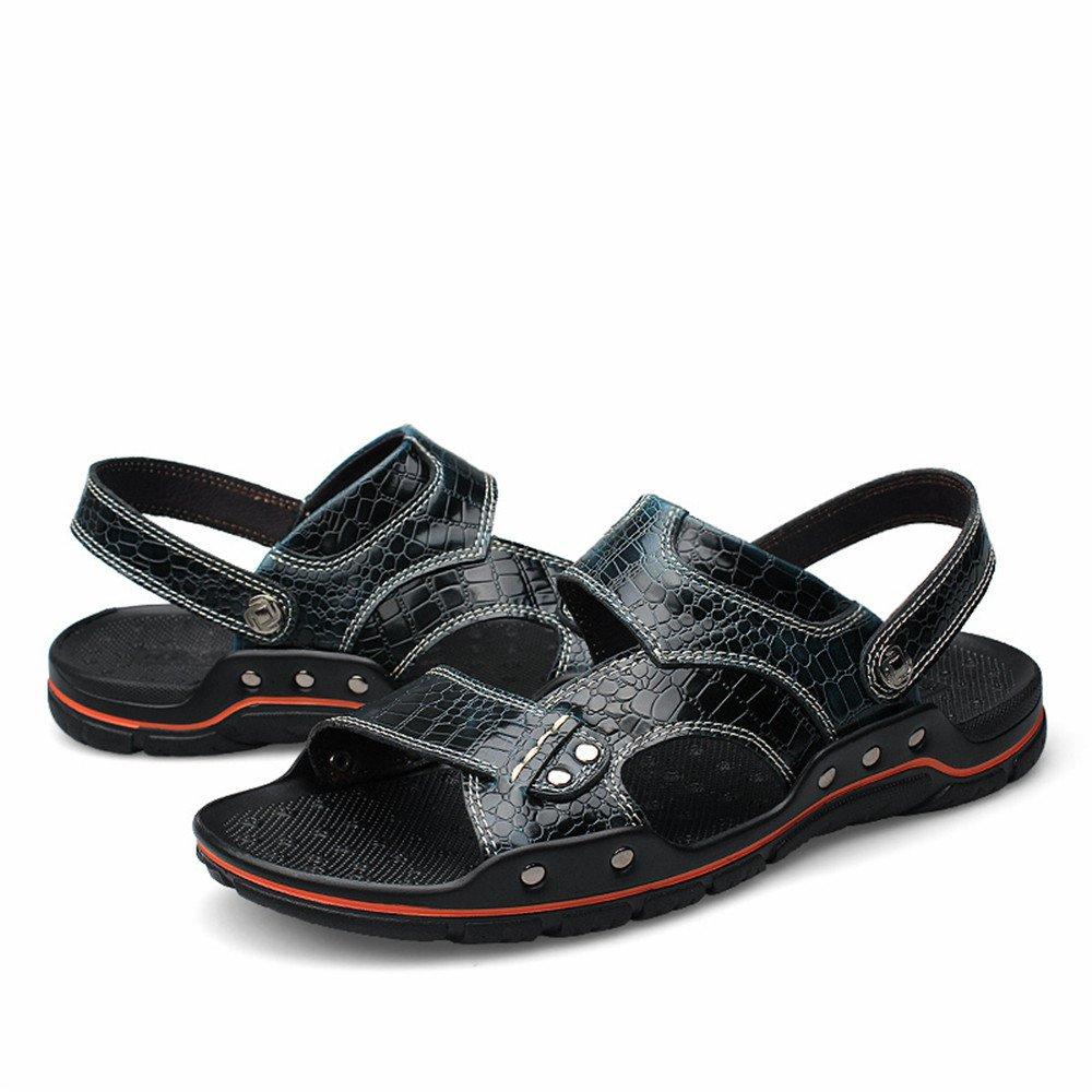 Sandalias de Deporte para Hombre Zapatos de Senderismo de Verano al Aire Libre 40 EU Armada
