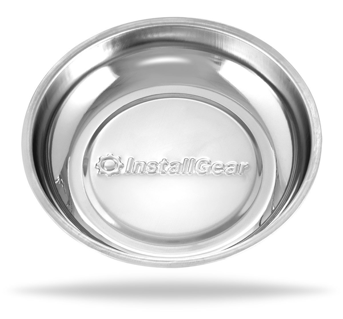InstallGear Magnetic Parts Tray 4 Stainless Steel