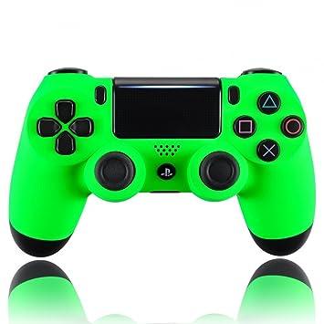eXtremeRate Carcasa Mando PS4 Funda Delantera Protectora Placa Frontal Cubierta Reemplazable Antideslizante para Mando de Playstation 4 PS4 Slim Pro ...
