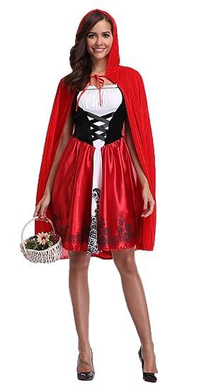 Caperucita Roja Halloween.I Curves De Las Mujeres Storybook Cuento De Caperucita Roja Fiesta De Halloween Completa Del Traje Del Tamano 34 36