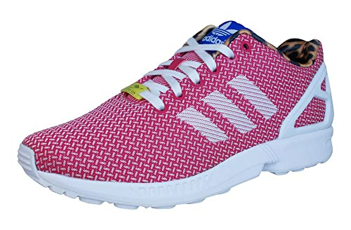 adidas zx flux rosa bianco