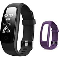 Letsfit Fitness Tracker HR, Activity Tracker Watch with Heart Rate Monitor, IP67 Water Resistant Pedometer, Calorie and Step Counter Watch for Android & iOS
