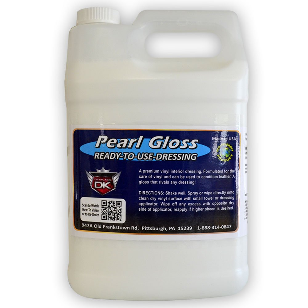 Detail King Pearl Gloss Automotive Interior Dressing Gallon