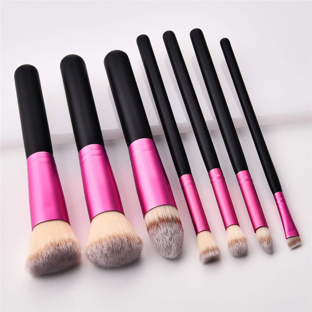 43e831ef326e Amazon.com: NRUTUP Top Makeup Brushes Tool Set Cosmetic Eye Shadow ...