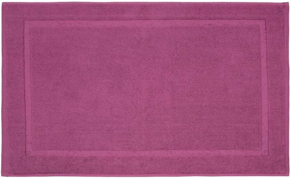 REVITEX - Alfombra de Baño Estela Morado - Rizo 100% algodón - Absorbente - 50x70 cm: Amazon.es: Hogar