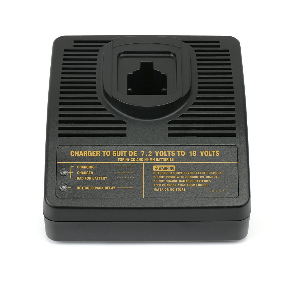 PowerGiant DW9116 Battery Charger for Dewalt 7.2-18V Ni-CD & Ni-MH Pod Style Battery dc9099 dc9098 dc9096 dw9099 dw9098