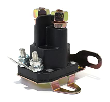 Amazon.com: NUEVO Polo universal 4 Post/12 V Relé solenoide ...