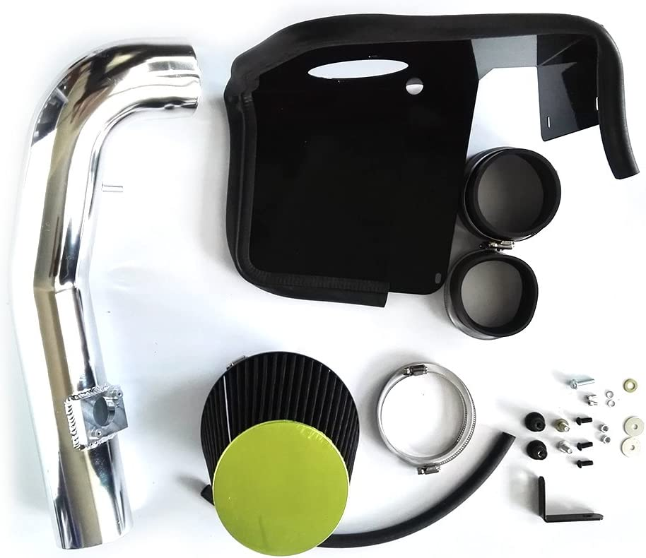 Performance Cold Air Intake Kit with Lifetime Black Oiled Filter For 2009 2010 2011 2012 2013 Cadillac Escalade /& Chevrolet Avalanche Silverado 1500 Tahoe /& GMC Sierra Yukon XL 1500