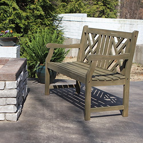 Décor Therapy FR8582 Outdoor Bench, Green