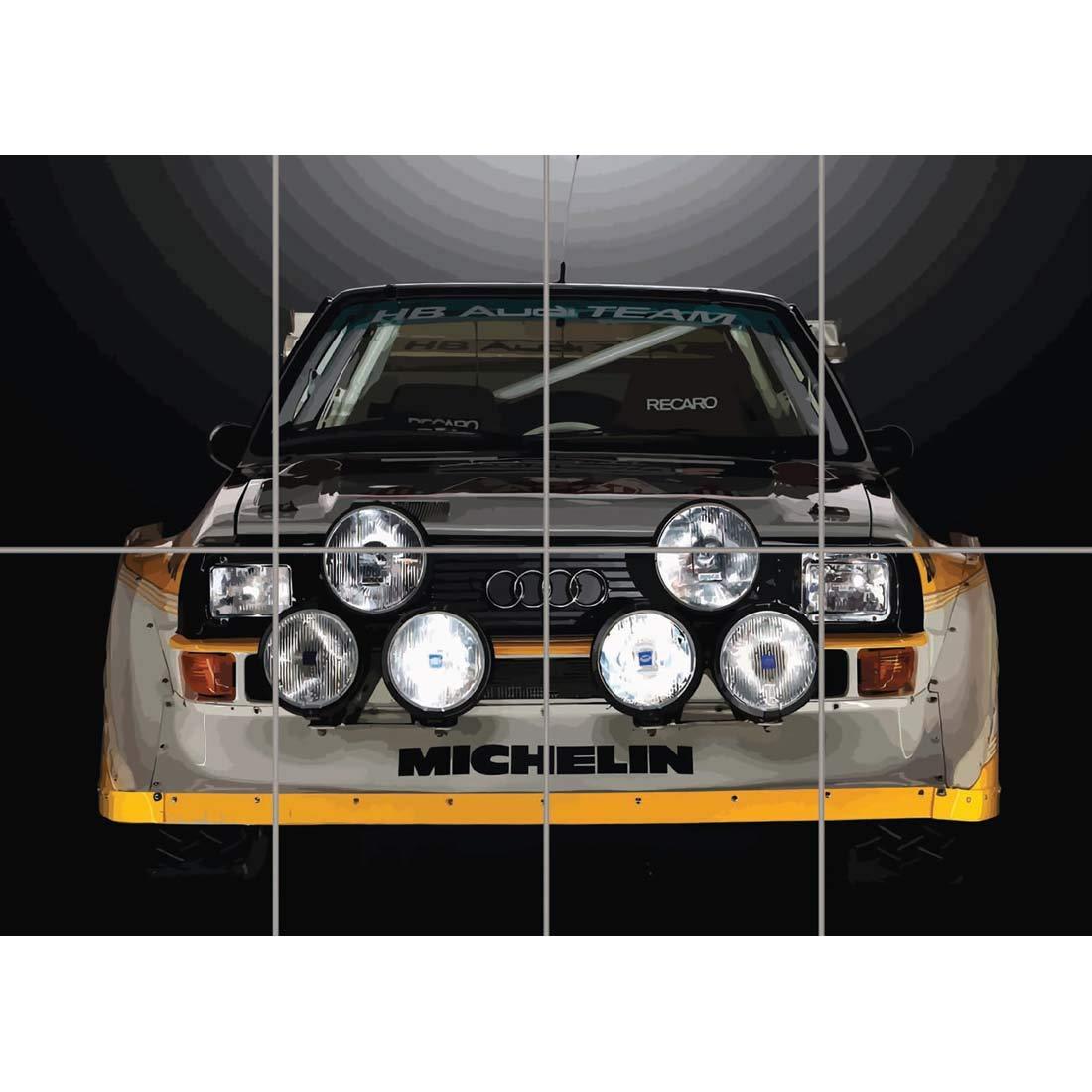 Poster Audi Sport Quattro S1 Wall Art