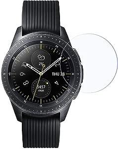 لاصقة زجاجية لحماية الشاشة من الكسر لساعة ساعة سامسونج جالكسي 42 مم
