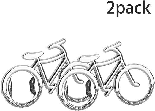 Mila-Amaz 2Pcs Creativo Bicicleta Abrebotellas Abridores de ...