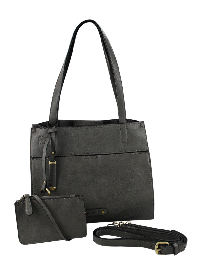 Simply Noelle 5th Avenue Satchel (Steel)