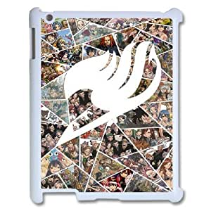 2015 customized 3D Case for IPad 2,3,4 2D, Fairy Tail Logo Case for IPad 2,3,4 2D, Tyquin White