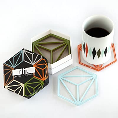 Geometric Designer Table Coasters