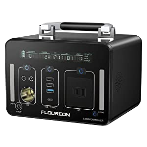 FLOUREON PL500J 500Wh AC出力500W ポータブル電源