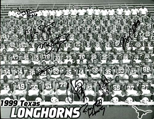 - 1999 Texas Longhorns Team Signed Photo Autographed Simms Applewhite Cavil Babino