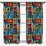 Disney Marvel Comics 'STRIKE' 54-Inch Curtain Set