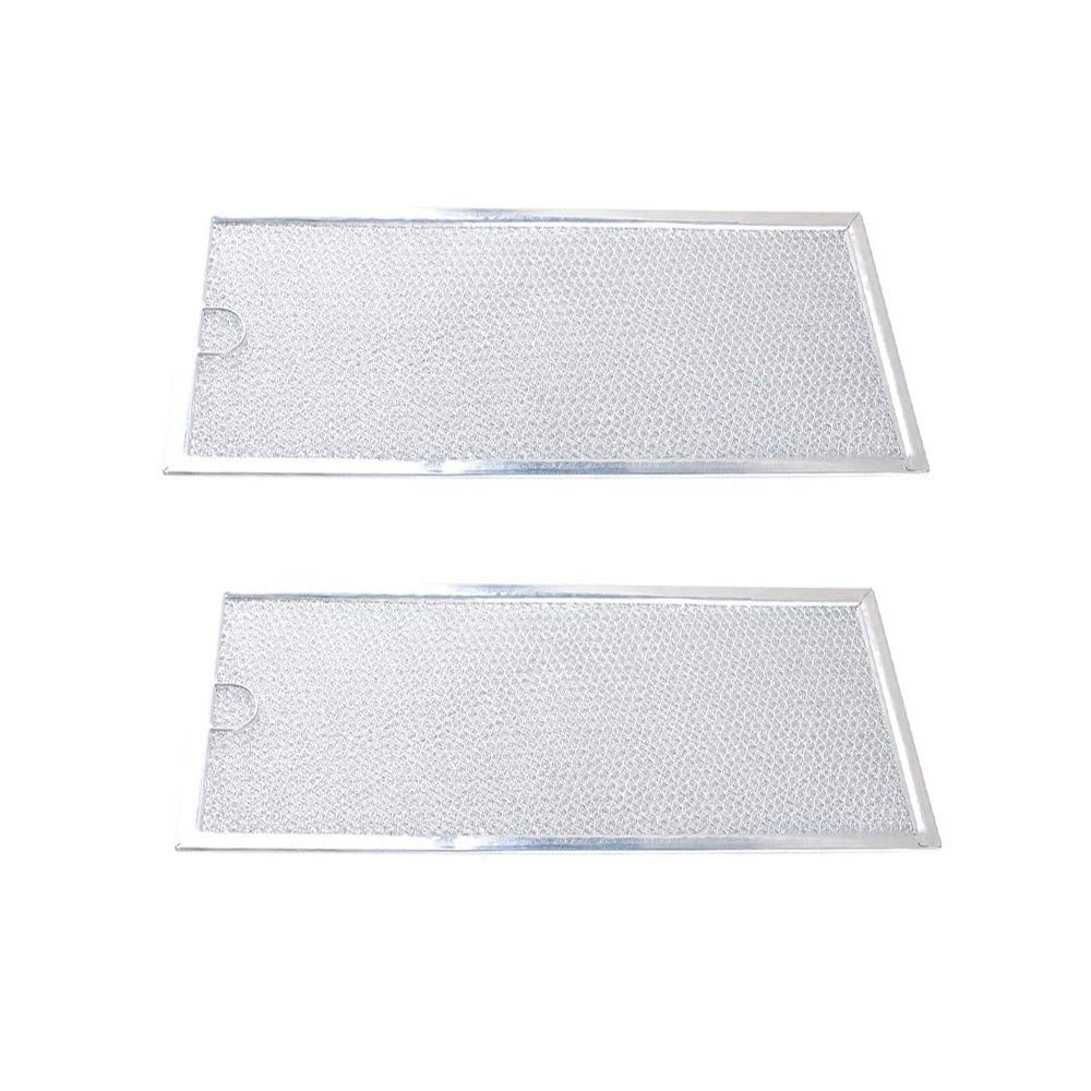 WB06X10596 Microwave Grease Filters Compatible GE General Electric Hotpoint Replaces 1085087 AP3792368 Pack of 2