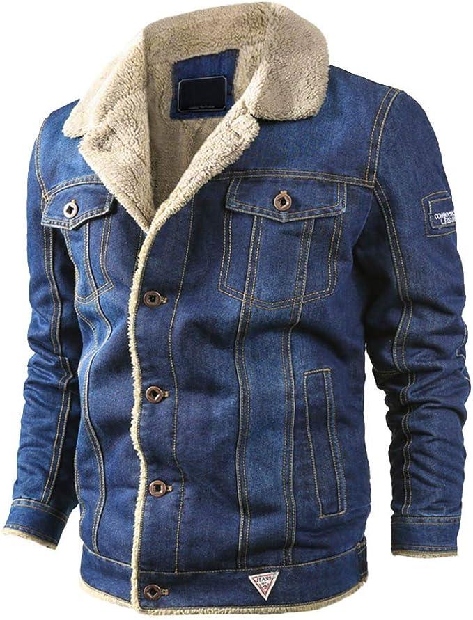SemiAugust(セミオーガスト)デニムジャケット メンズ 裏ボア ジージャン Gジャンー 厚手 防寒 コート ジャケット ファッション 秋冬 アウター