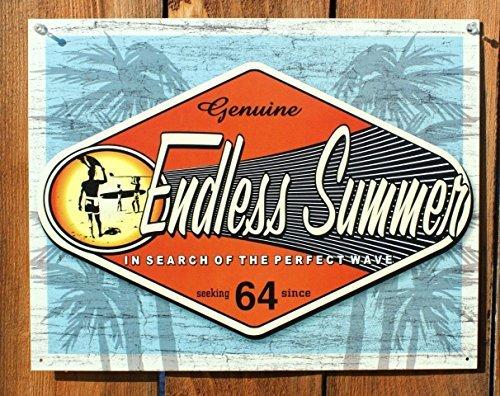 Endless Summer - Genuine Metal Tin Sign