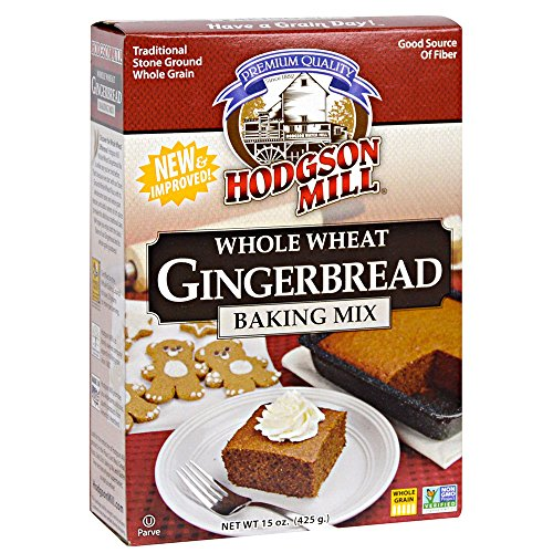 Hodgson Mill Whole Wheat Gingerbread Mix, 15-Ounce Units (Pack of 6) ()
