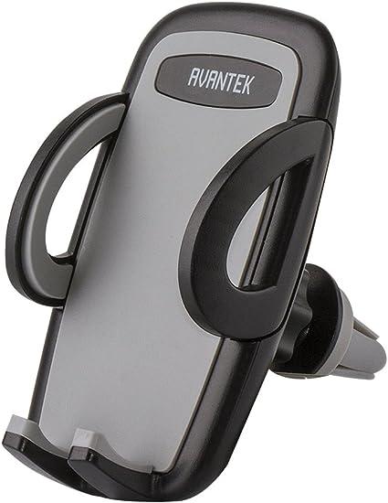 Avantek Universal Kfz Handy Halterung Autohalterung Für Den Lüftungsschlitz Ihres Autos Halter Für Alle Handy Modelle Bis Zu 9 5 Cm Breit Bekleidung