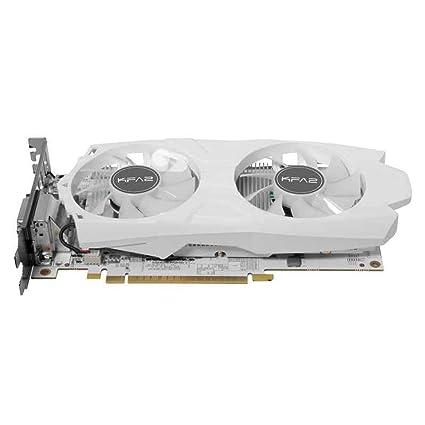 KFA2 50IQH8DVP1WK - Tarjeta gráfica (GeForce GTX 1050 Ti, 4 GB, GDDR5, 128 bit, 4096 x 2160 Pixeles, PCI Express 3.0)