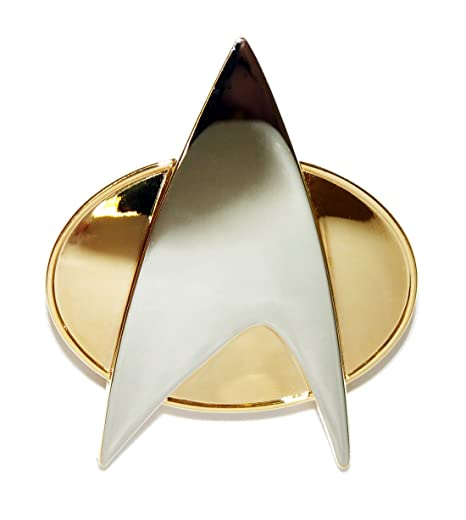 Amazon Star Trek The Next Generation Metal Communicator Pin