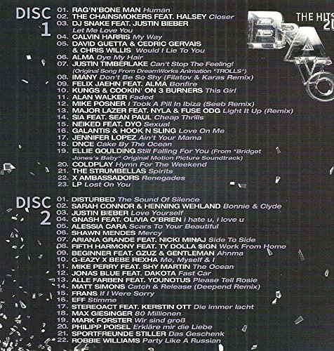 David Guetta - International & Germany Hits (2 0 1 6) (Compilation Cd, 45 Tracks) - Zortam Music