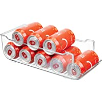 mDesign Large Plastic Pop/Soda Can Dispenser Storage Organizer Bin for Kitchen Pantry, Countertops, Cabinets…
