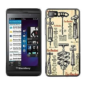 Dragon Case - FOR Blackberry Z10 - I am tired of you - Caja protectora de pl??stico duro de la cubierta Dise?¡Ào Slim Fit