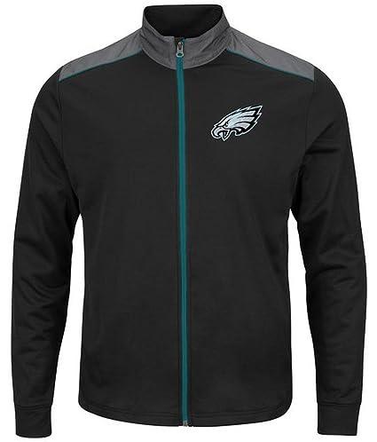 timeless design fef96 8ba5b Amazon.com : Philadelphia Eagles NFL Mens Majestic Therma ...
