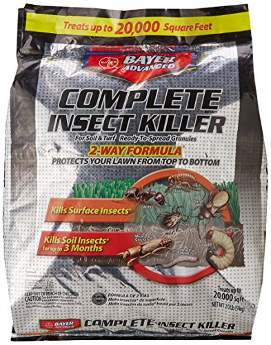 Bayer Advanced 700289A Complete Insect Killer for Soil and Turf Granules Lawn Care Moles