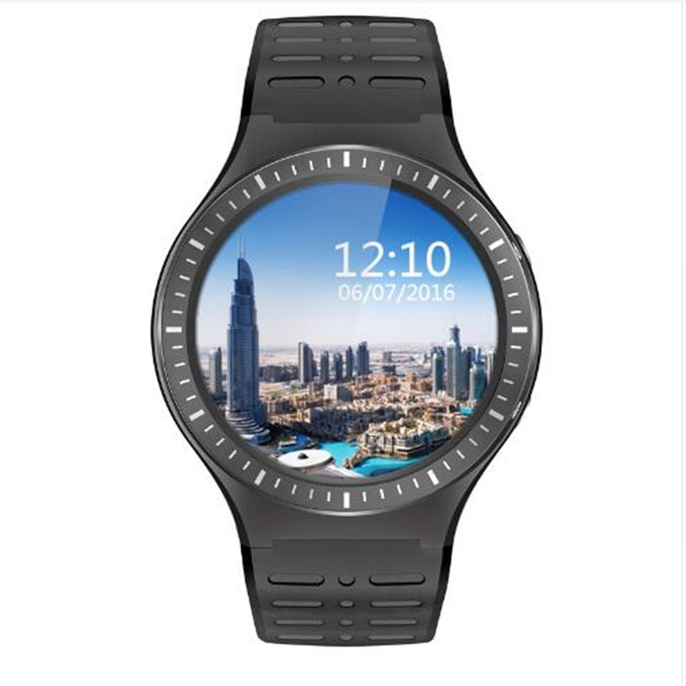 Amazon.com: S99B Smart Watch Phone Support Android 5.1 MTK6580M 1.3G Quad-cores 8GB Memory SIM Card Wifi Bluetooth GPS Smartwatch PK KW88 (BLACK): Cell ...
