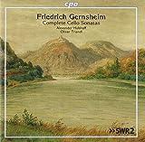 #8: Gernsheim: Complete Cello Sonatas