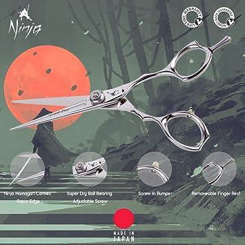 Amazon.com : Ninja Masaru Twist Professional Hair Scissors ...