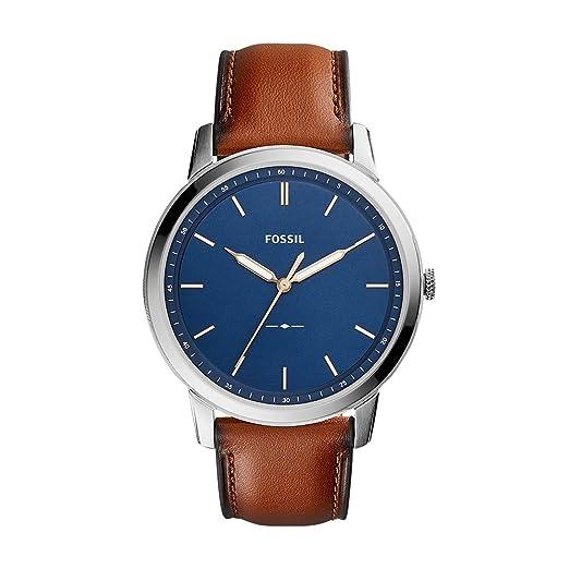 719d90fe662c Fossil Reloj para Hombre de Cuarzo con Correa en Cuero FS5304  Amazon.es   Relojes