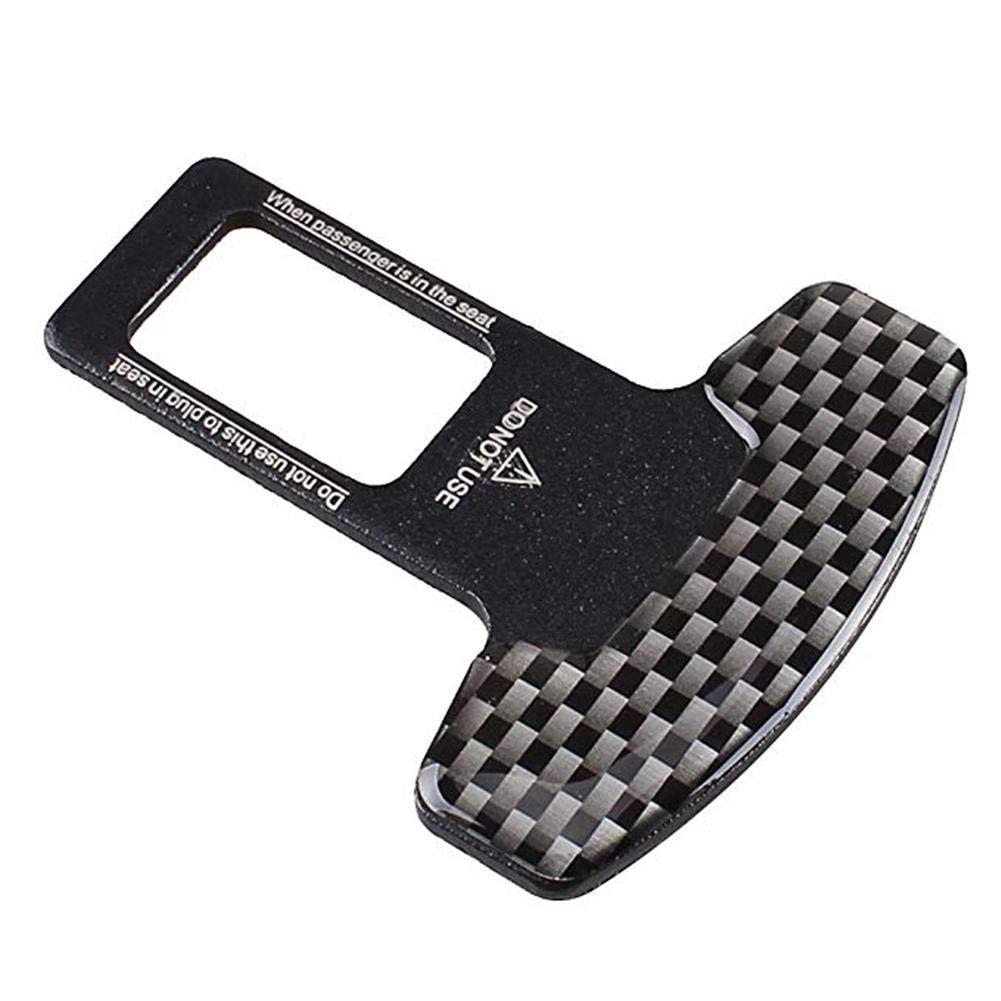 Clip de boucle de ceinture de s/écurit/é pour voiture Paquet de 2 Attache de boucle de ceinture de s/écurit/é adapt/é /à la boucle de ceinture de s/écurit/é Verrouillez votre ceinture de s/écurit/&eac