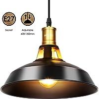 Albrillo Lámpara Colgante Industrial Vintage - Φ27cm