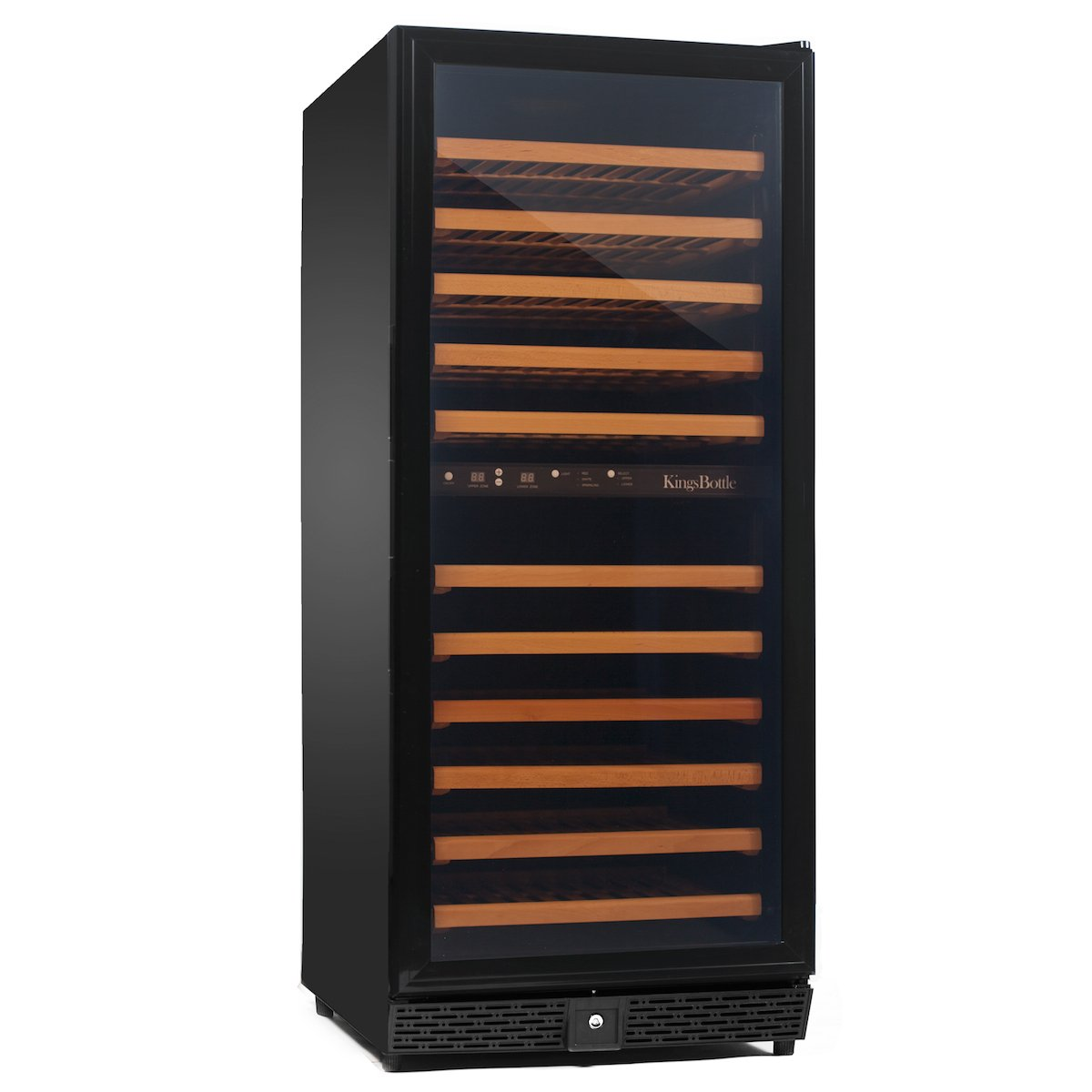 amazoncom kingsbottle  bottle dual zone wine cooler black  - amazoncom kingsbottle  bottle dual zone wine cooler black appliances