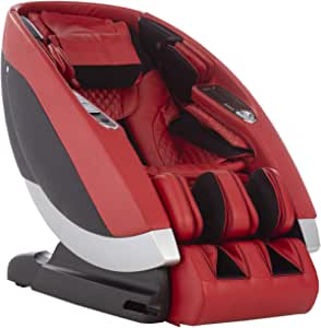 Human Touch Super Novo Massage Chair, One Size, Red