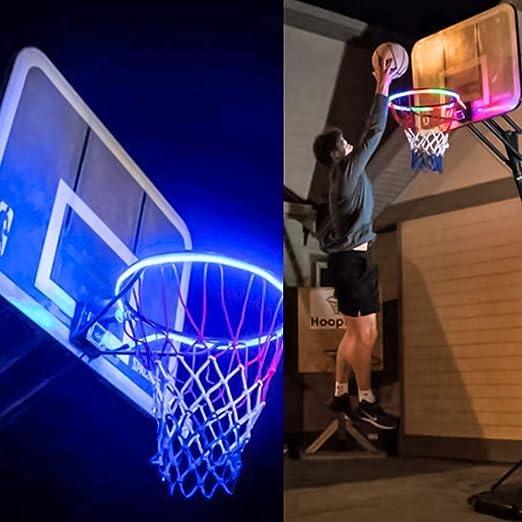 ASPORT LED Luces del aro de Baloncesto, Baloncesto Accesorios Red ...