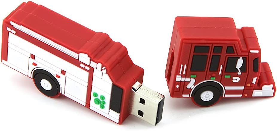 Novelty Cute Cartoon Green Train Shape 32GB USB 2.0 Flash Drive Thumb Drive Memory Stick Gift