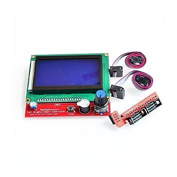 Regulador Elegante de la Impresora 3D 2sets / Lot RAMPS 1.4 LCD ...