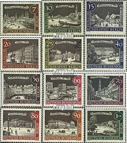 Berlin (West) 218-229 (complete.issue.) unmounted mint / never hinged 1961 old-Berlin (Stamps for collectors) ()